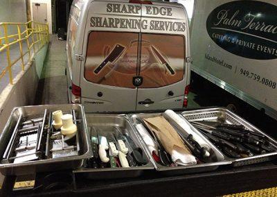 OC Knife Sharpening Van