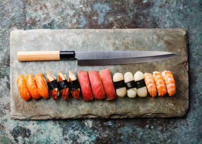 Single Bevel Knife - OC Knife Sharpening - July 28 Blog